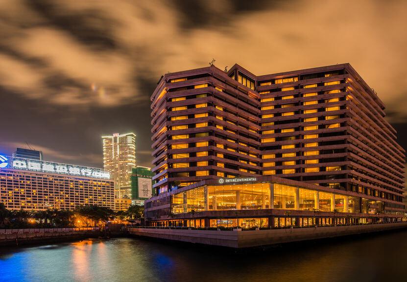 インターコンチネンタル香港 外観
