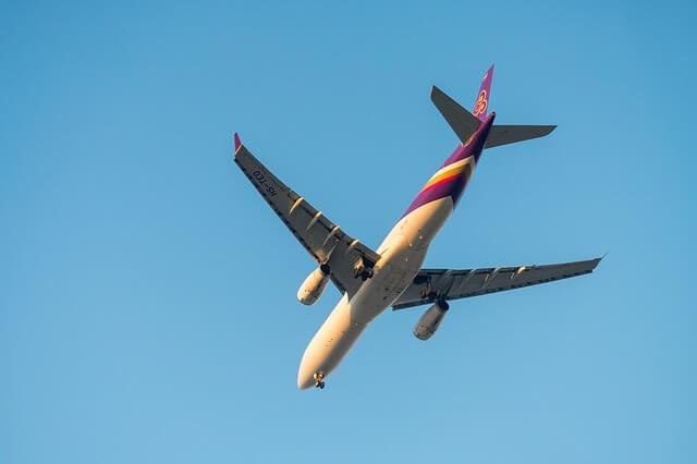 タイ航空飛行機