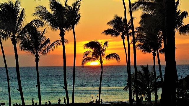 ハワイサンセット