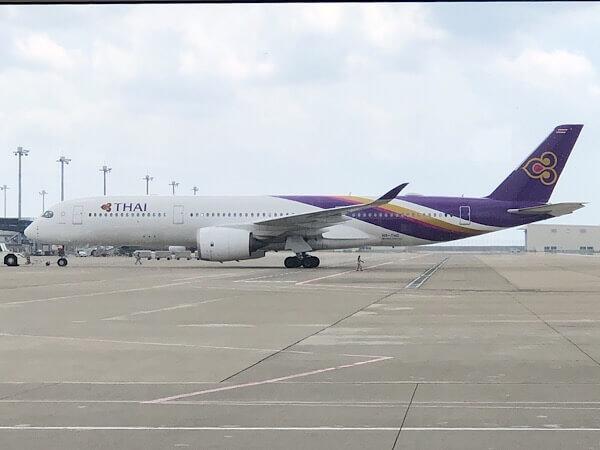 【2020年版】タイ航空A350ビジネスクラスに搭乗!ラウンジから機内食まで大調査!