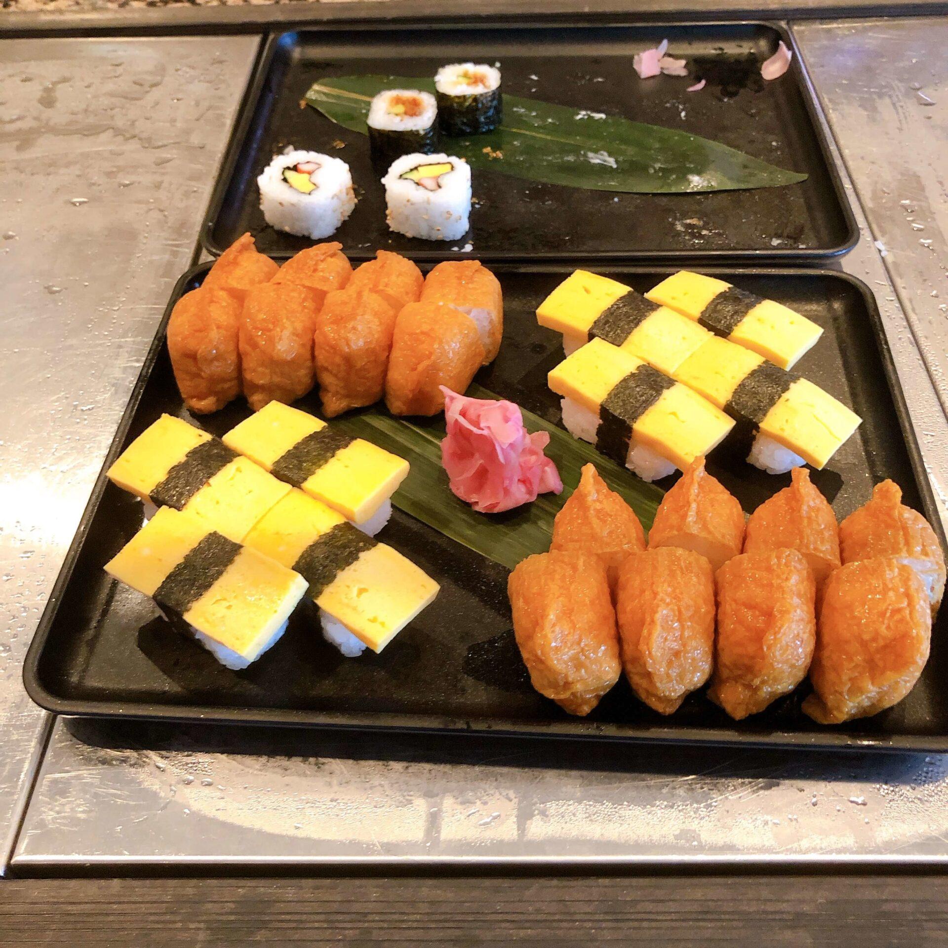 お寿司や海苔巻き