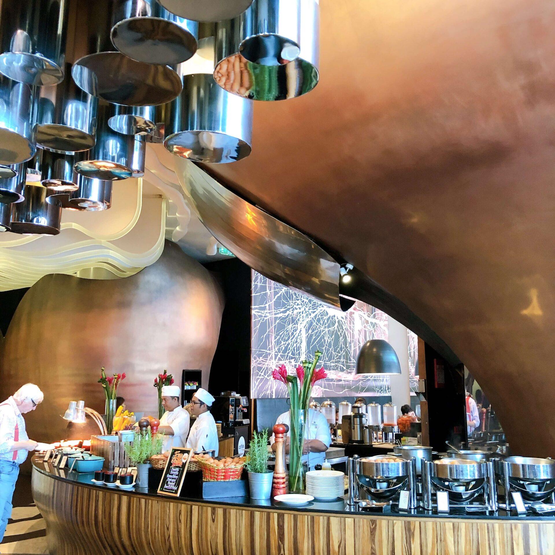 レストランVASCO'Sの風景