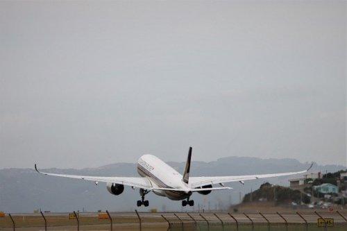 シンガポール航空機材