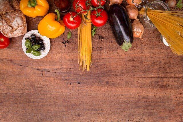 鮮度の高い食材の数々